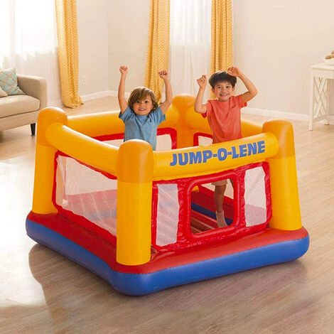 Intex 48260 Jump-O-Lene Hüpfburg aufblasbares Trampolin Kinder