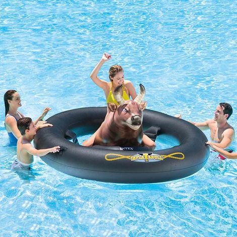 Intex 56280 Inflatabull Inflatable Ride On for the Pool or Beach