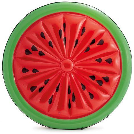 Intex 56283 Wassermelone aufblasbare Badeinsel Luftmatratze Melone 183x23cm
