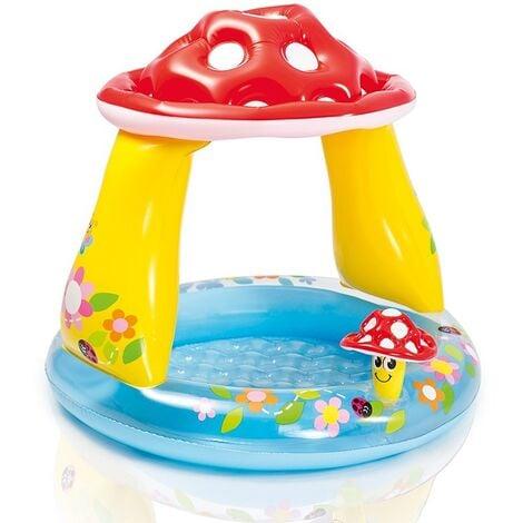 Intex 57114NP Mushroom Baby Pool With Shade