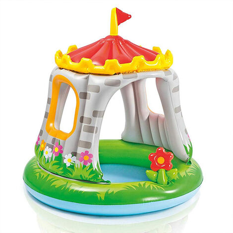 Intex 57122 Royal Castle Kiddie Inflatable Pool Toy Children Water Play game