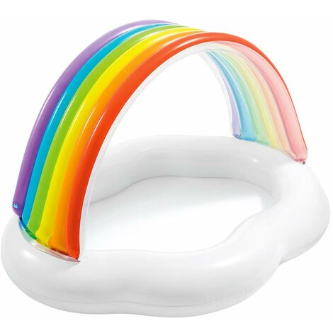 Intex 57141 Pool Baby Canopy Rainbow