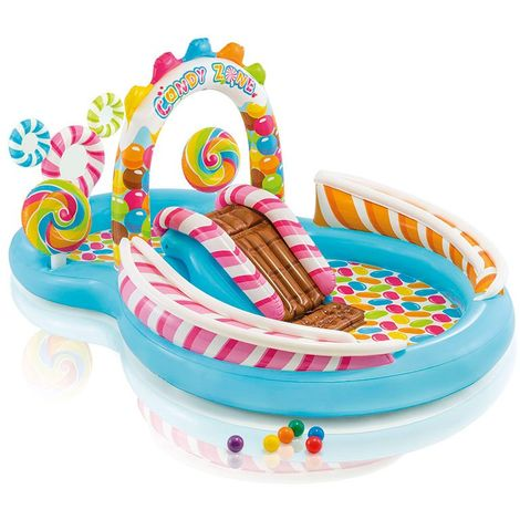 Intex 57149 Candy Play center paddling pool with games and accessories
