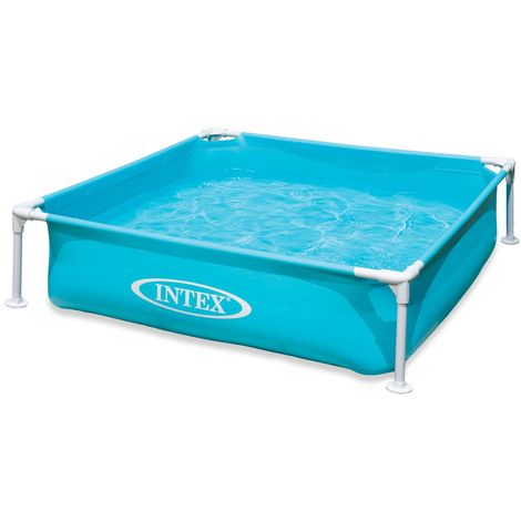 Intex 57173 Mini Frame Pool 122x122x30cm Blau Wasserkapazität 337 L