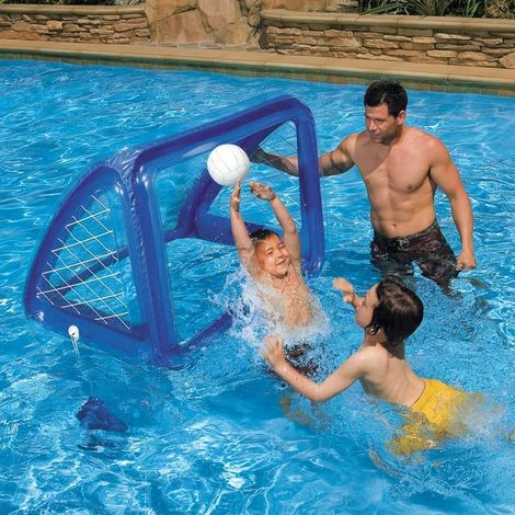 Intex 58507 Inflatable Goal for the Pool to Play Water Polo