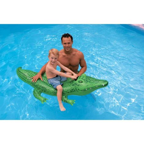 INTEX 58546 - Alligator gonflable / carrossable 168x86 cm