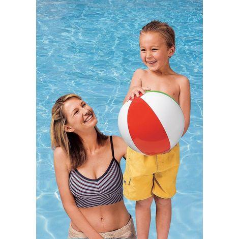 Intex 59010 Wasserball Strandball Beachball Badespass uni Durchmesser ca. ø 41cm