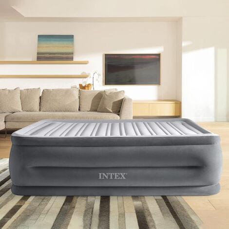 intex 64418 Materasso Matrimoniale Comfort Plush Hise Rise con Pompa Interna