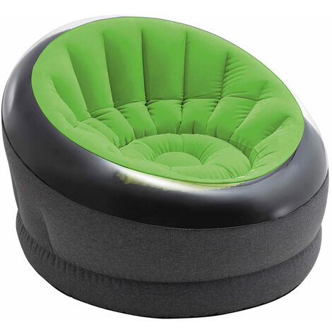 INTEX 66581NP - Sillón inflable verde lima Empire