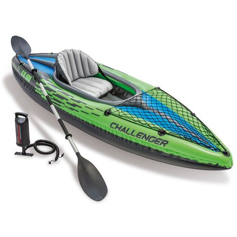 Intex 68305 Challenger K1 Inflatable Canoe Kayak