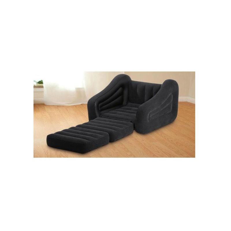 Poltrona Letto Gonfiabile.Intex 68565 Poltrona Letto Gonfiabile Pull Out Chair 109x218x66cm
