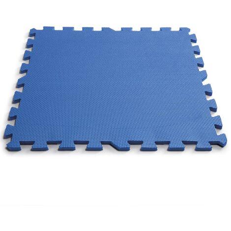Intex 8 pcs Pool Floor Protectors 50x50 cm Blue - Blue