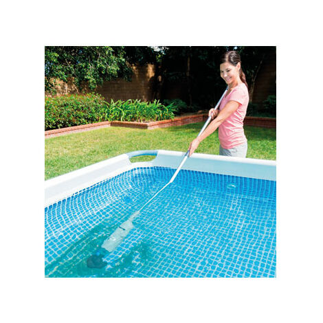Intex Aspirador recargable de jacuzzi y piscina - Gris