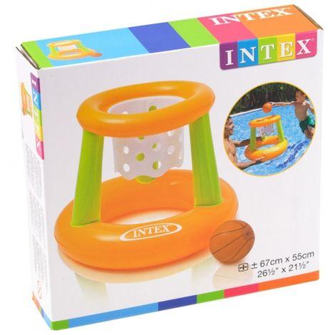 Intex aufblasbarer Basketballkorb Pool Basketballnetz mit Ball
