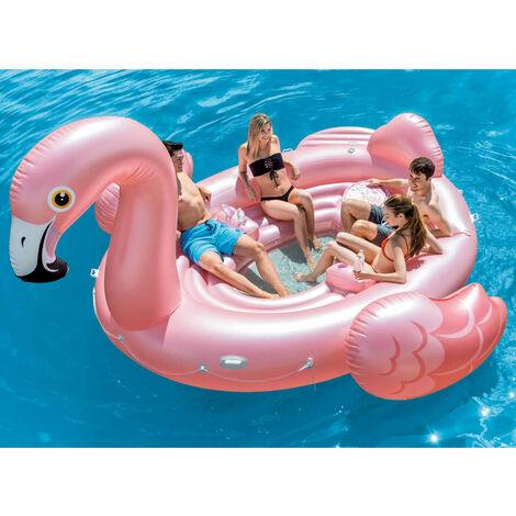 Intex Badeinsel Flamingo Party Island 57267EU