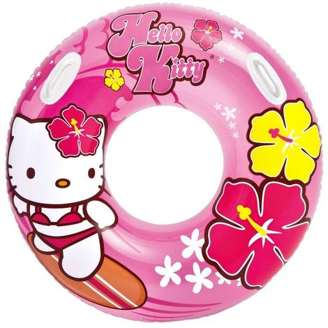 Intex Bouée gonflable 97 cm Hello Kitty 58269