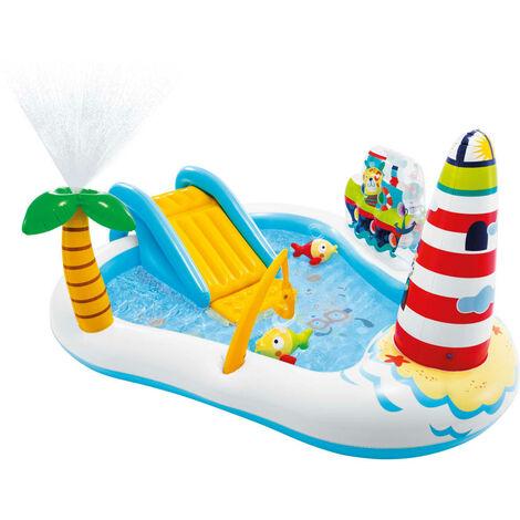 Intex Centro de juego Fishing Fun 218x188x99 cm - Multicolor