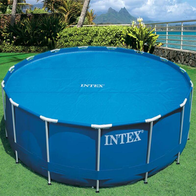 CON BORSA INTEX 29022 TELO termico Ø 348 cm per piscine EASY e FRAME da 366 cm
