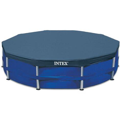 Intex Couverture de piscine ronde 366 cm 28031