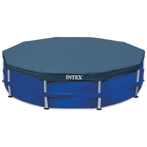 Intex Couverture de piscine ronde 457 cm 28032