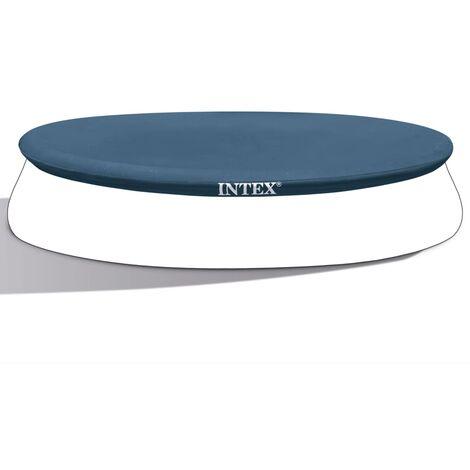 Intex Couverture de piscine ronde 457 cm