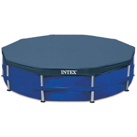 Intex Couverture de Piscine Ronde Bâche Protection de Piscine Multi-taille