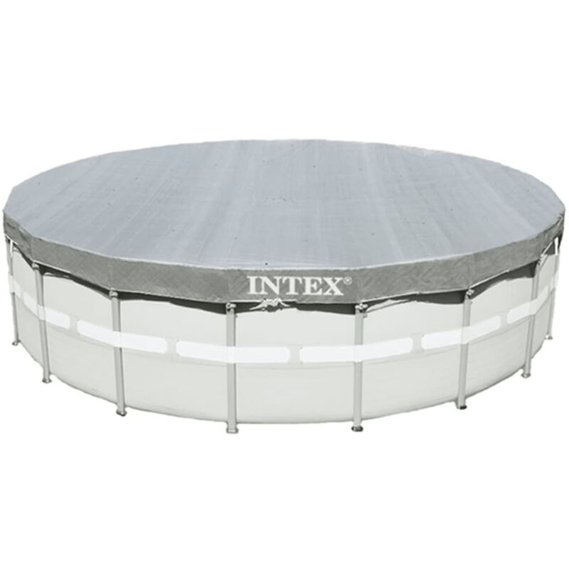 Intex Couverture de piscine ronde Deluxe 488 cm 28040