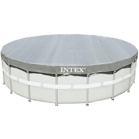 Intex Couverture de piscine ronde Deluxe 488 cm 28040