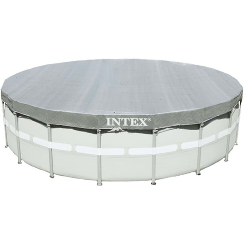 Intex Couverture de piscine ronde Deluxe 549 cm 28041