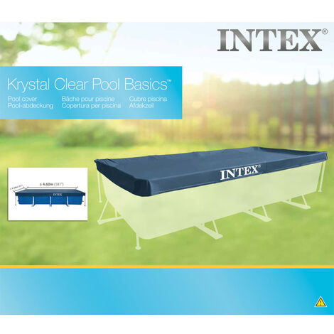 Intex Couverture rectangulaire pour piscine 450x220 cm 28039