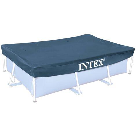 Intex Couverture Rectangulaire pour Piscine B?che Couvercle Multi-taille
