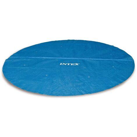 Intex Couverture solaire de piscine ronde 244 cm