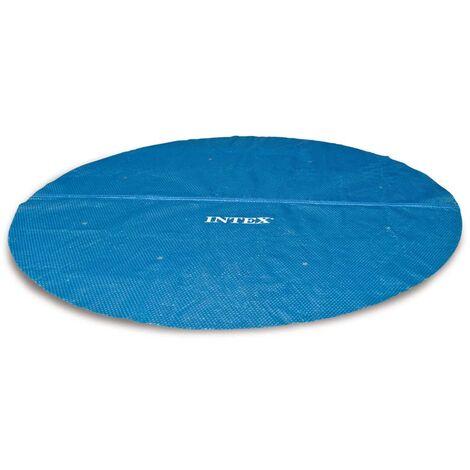 Intex Couverture solaire de piscine ronde 488 cm