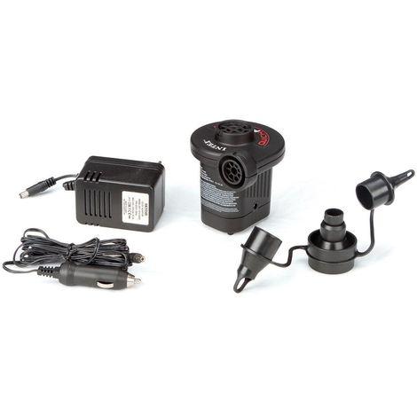 INTEX elektr Pumpe Luftbett Luftpumpe 12 Volt 3 Ventile
