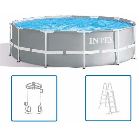 Intex Ensemble de piscine Prism Frame 366 x 99 cm 26716GN