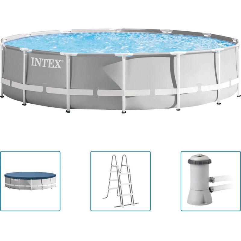 Ensemble de piscine Prism Frame Premium 427x107 cm - Intex