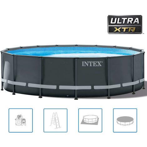 Intex Ensemble de piscine ronde Ultra XTR Frame 488 x 122 cm 26326GN