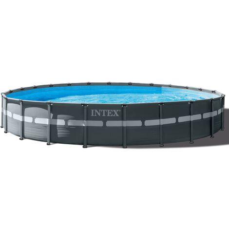 Intex Ensemble de piscine ronde Ultra XTR Frame 732 x 132 cm 26340GN