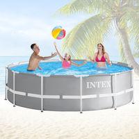 Intex Ersatz-Pool Frame 366 x 91 cm - mit Anschluss-Set (ohne Schläuche)