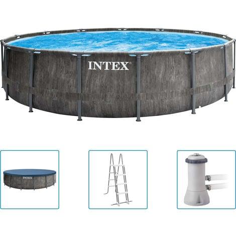 Intex Greywood Prism Frame Premium Pool-Set 457x122 cm