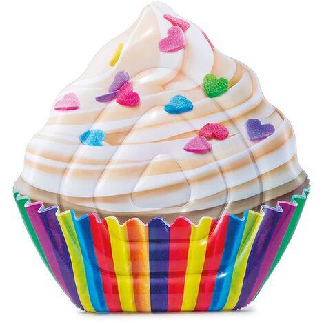 "Intex Inflatable Cupcake Pool Lounger 56"" x 53"""