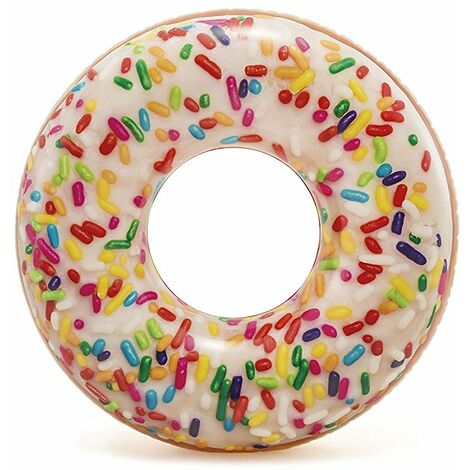 "Intex Inflatable Giant Donut Sprinkle Swim Ring 45"""