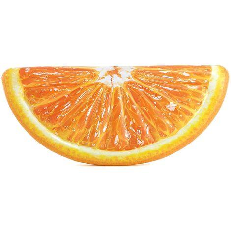 "Intex Inflatable Giant Orange Slice Pool Lounger 70"" x 33.5"""