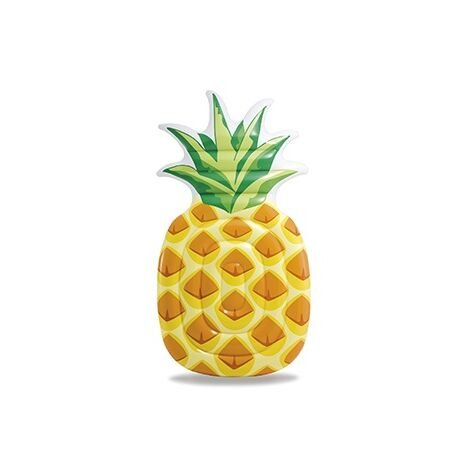 """Intex Inflatable Pineapple Pool Lounger 85"""" x 49"""""""
