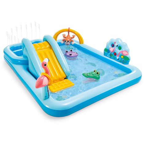 INTEX Jungle Adventure Play Center Kinderpool mit Spiele 57161