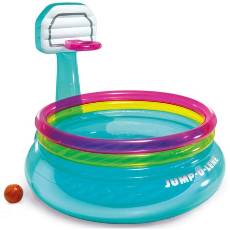 Intex Kids Inflatable Bouncer Jump-O-Lene Basketball PVC