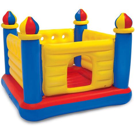 Intex Kids Inflatable Bouncer Jump-O-Lene Castle PVC - Multicolour