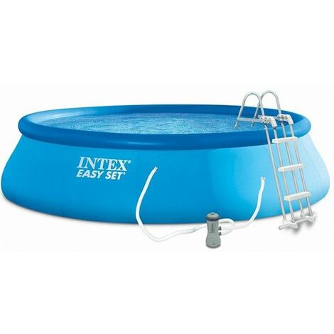 INTEX Kit piscine ronde autoportee Easy Set - O182 x 50cm