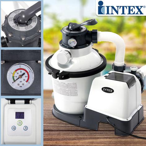 Sandfilter für Aufstellpools bis 15 m³ Filter Poolfilter Filterpumpe Pool