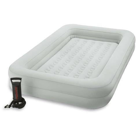 intex matelas pneumatique kidz travel bed set 107x168x25. Black Bedroom Furniture Sets. Home Design Ideas